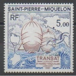 Saint-Pierre and Miquelon - 1987 - Nb 477 - Boats