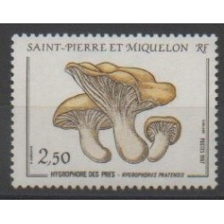 Saint-Pierre and Miquelon - 1987 - Nb 475 - Mushrooms