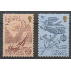 Guernsey - 1981 - Nb 217/218 - Europa