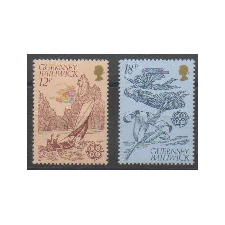 Guernesey - 1981 - No 217/218 - Europa