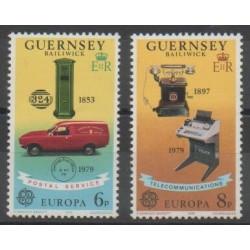 Guernsey - 1979 - Nb 184/185 - Europa