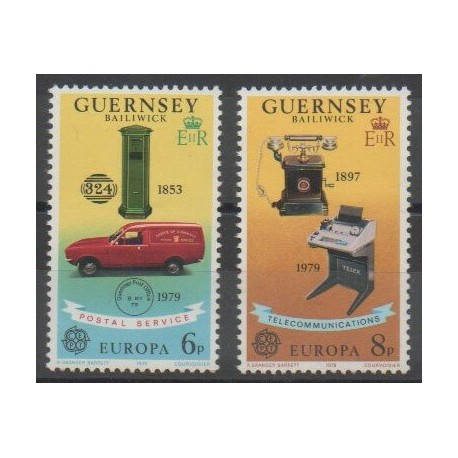 Guernesey - 1979 - No 184/185 - Europa