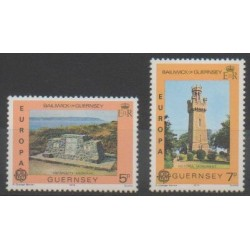 Guernsey - 1978 - Nb 156/157 - Monuments - Europa