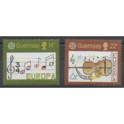 Guernesey - 1985 - No 322/323 - Musique - Europa