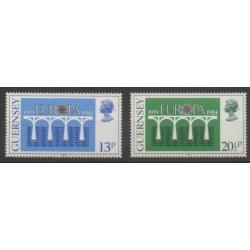 Guernsey - 1984 - Nb 286/287 - Europa