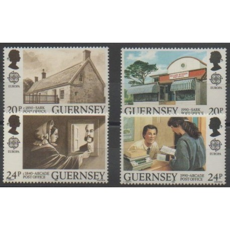 Guernesey - 1990 - No 485/488 - Europa