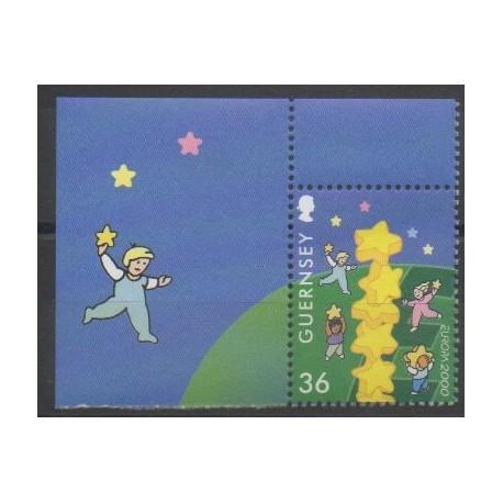 Guernesey - 2000 - No 864 - Europa