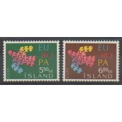 Iceland - 1961 - Nb 311/312 - Europa