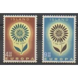 Islande - 1964 - No 340/341 - Europa
