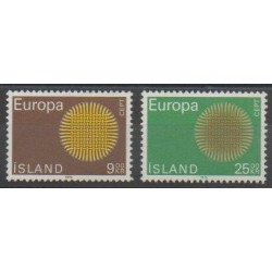 Iceland - 1970 - Nb 395/396 - Europa