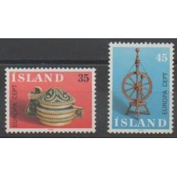 Iceland - 1976 - Nb 467/468 - Art - Europa