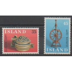 Islande - 1976 - No 467/468 - Art - Europa
