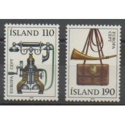 Islande - 1979 - No 492/493 - Europa