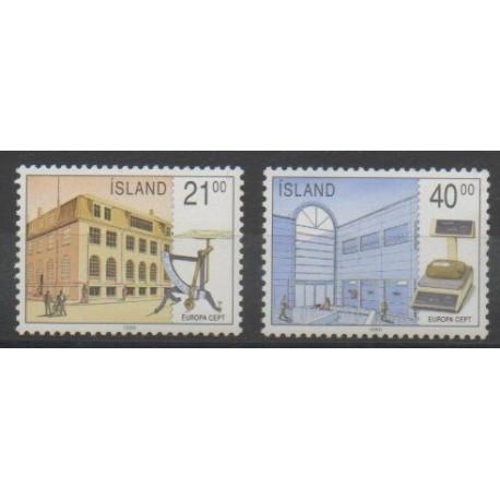 Islande - 1990 - No 679/680 - Europa