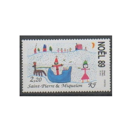 Saint-Pierre et Miquelon - 1989 - No 512 - Noël