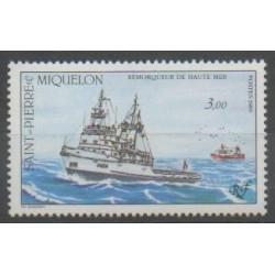 Saint-Pierre and Miquelon - 1989 - Nb 510 - Boats