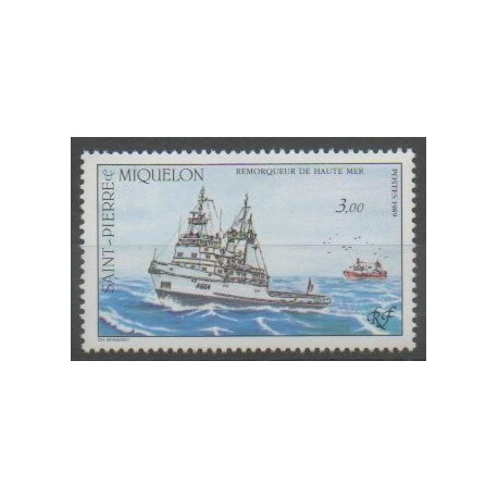 Saint-Pierre et Miquelon - 1989 - No 510 - Navigation