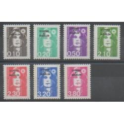 Saint-Pierre and Miquelon - 1990 - Nb 514/520