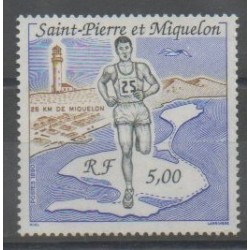 Saint-Pierre et Miquelon - 1990 - No 522 - Sports divers