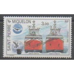 Saint-Pierre and Miquelon - 1990 - Nb 528 - Boats