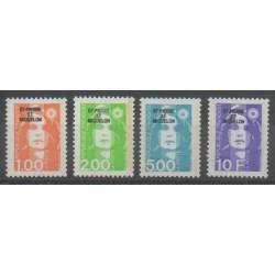 Saint-Pierre and Miquelon - 1990 - Nb 523/526