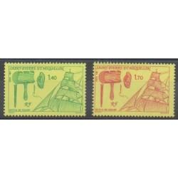Saint-Pierre et Miquelon - 1991 - No 535/536 - Navigation