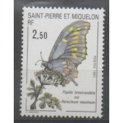 Saint-Pierre and Miquelon - 1991 - Nb 534 - Insects