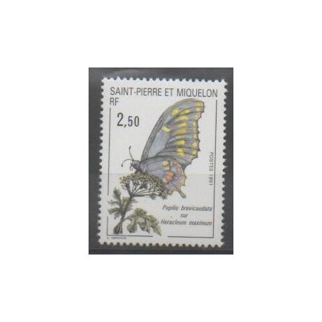 Saint-Pierre et Miquelon - 1991 - No 534 - Insectes
