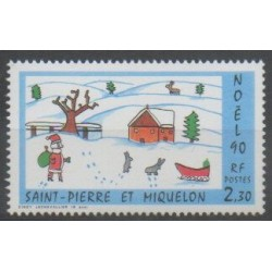 Saint-Pierre et Miquelon - 1990 - No 533 - Noël