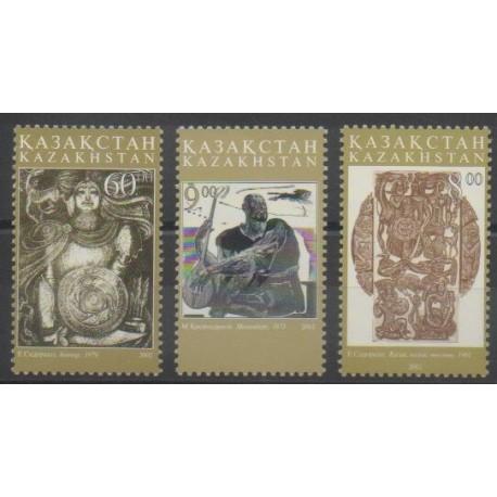 Kazakhstan - 2002 - No 327/329 - Art
