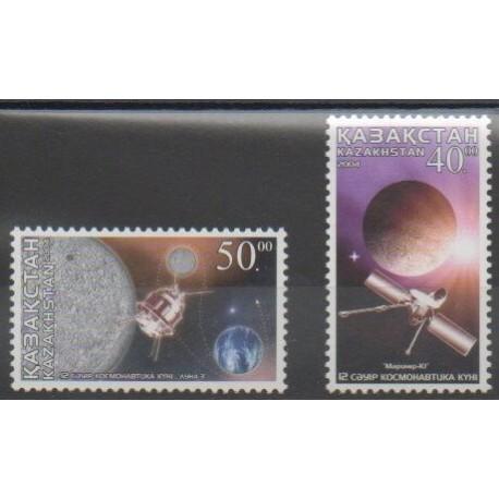 Kazakhstan - 2004 - No 389/390 - Astronomie