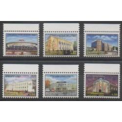 Tajikistan - 2004 - Nb 244/249 - Monuments