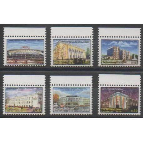 Tadjikistan - 2004 - No 244/249 - Monuments
