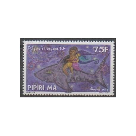 Polynésie - 2014 - No 1078 - Enfance