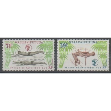 Wallis et Futuna - 1979 - No 243/244 - Sports divers