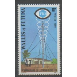 Wallis and Futuna - 1980 - Nb 257 - Telecommunications