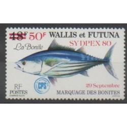 Wallis et Futuna - 1980 - No 264 - Animaux marins - Exposition