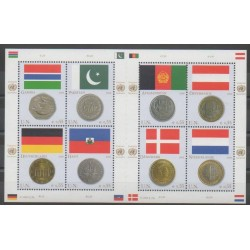 United Nations (UN - Vienna) - 2006 - Nb 488/495 - Flags - Coins, Banknotes Or Medals