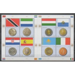 United Nations (UN - Vienna) - 2007 - Nb 500/507 - Flags - Coins, Banknotes Or Medals