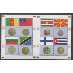 Nations Unies (ONU - Vienne) - 2012 - No 746/753 - Drapeaux - Monnaies, billets ou médailles