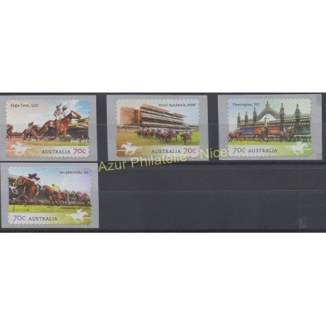Australia - 2014 - Nb 4053/4056 - Horses