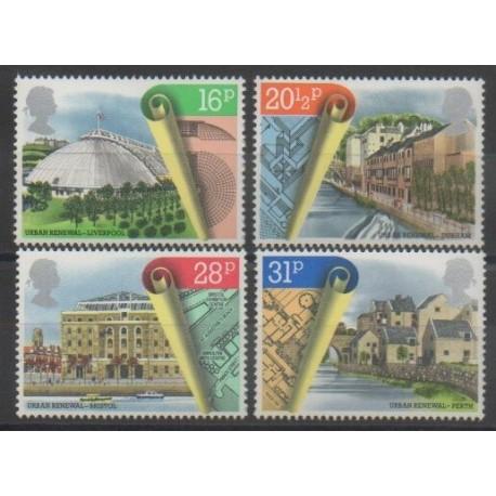 Grande-Bretagne - 1984 - No 1122/1125 - Monuments
