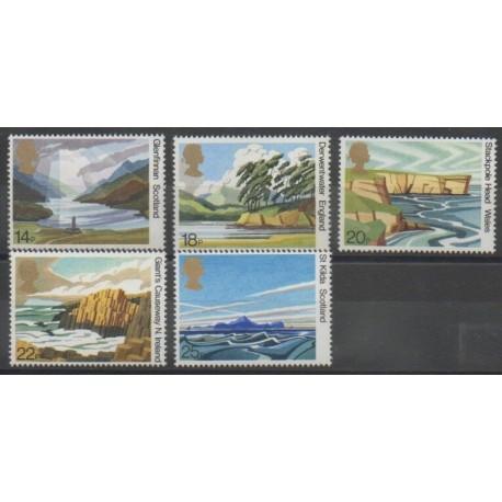 Grande-Bretagne - 1981 - No 996/1000 - Sites