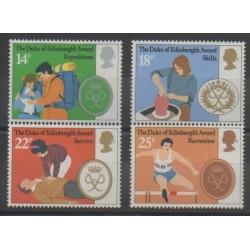 Grande-Bretagne - 1981 - No 1003/1006 - Royauté - Principauté