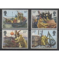 Great Britain - 1981 - Nb 1007/1010 - Boats