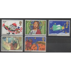 Great Britain - 1981 - Nb 1011/1015 - Christmas - Children's drawings
