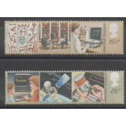 Grande-Bretagne - 1982 - No 1056/1057 - Télécommunications