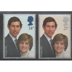 Great Britain - 1981 - Nb 1001/1002 - Royalty