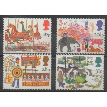 Grande-Bretagne - 1983 - No 1104/1107