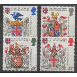 Grande-Bretagne - 1984 - No 1113/1116 - Armoiries